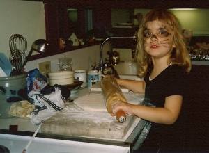 me at four: pizza maker extrordinaire