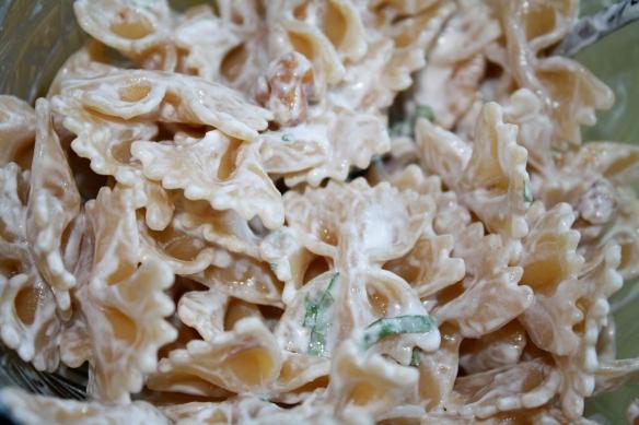 goat cheese pasta
