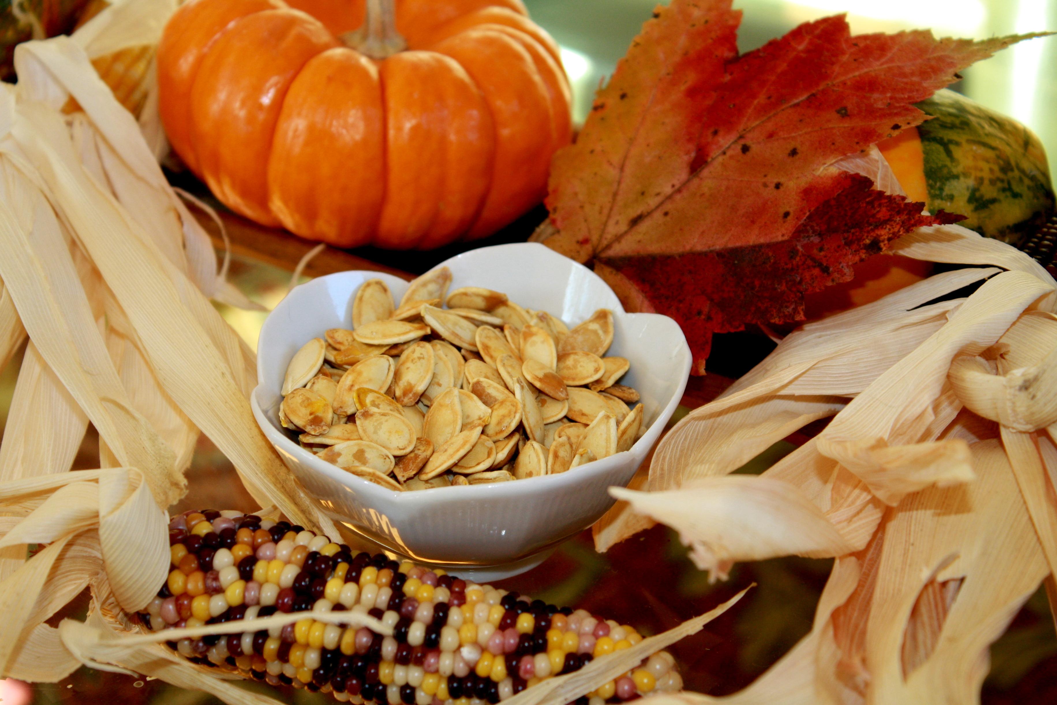 Oven Roasted Pumpkin Seeds | Sweet Life Laur