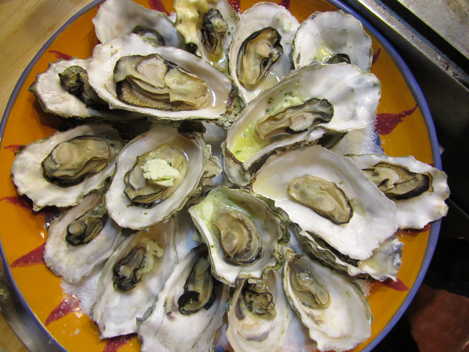 sweet life laur baked oysters